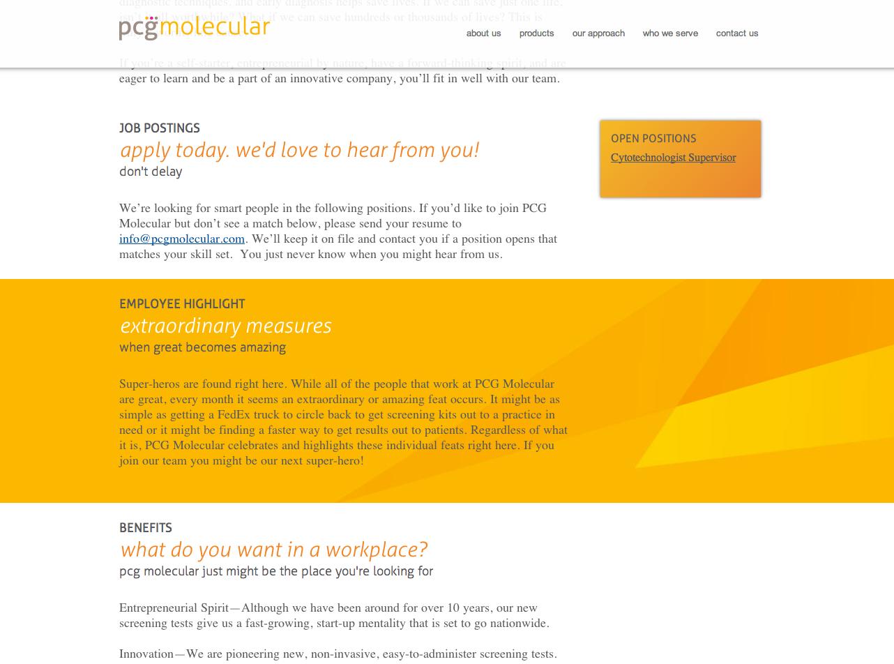 pcg molecular circlecube